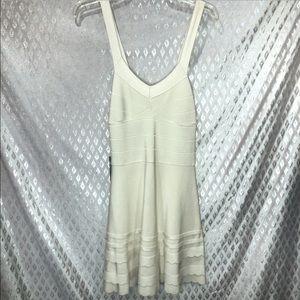 NWT Bebe Cream Mini Dress